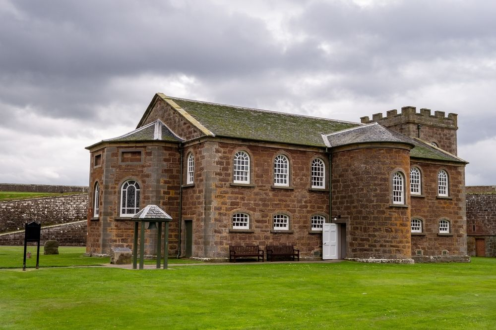 Garrison Chapel at Fort George