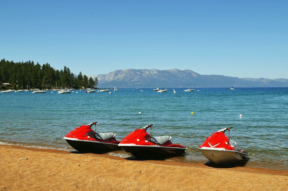 Jet Skis in Lake Tahoe