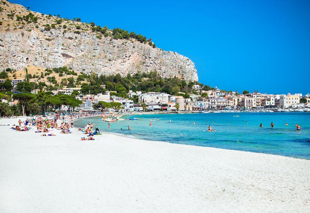 Mondello Beach Resort in Sicily.