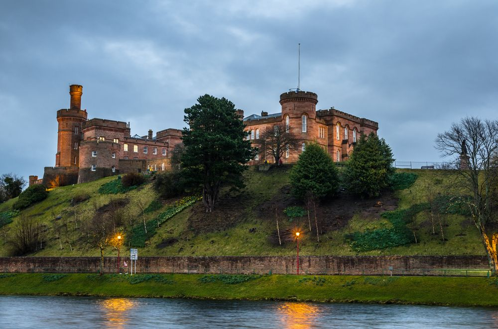 View of Inverness Castle