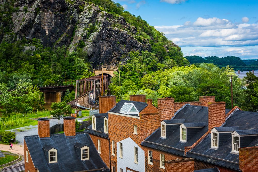 Historic buildings at Harpers Ferry National Historical Park