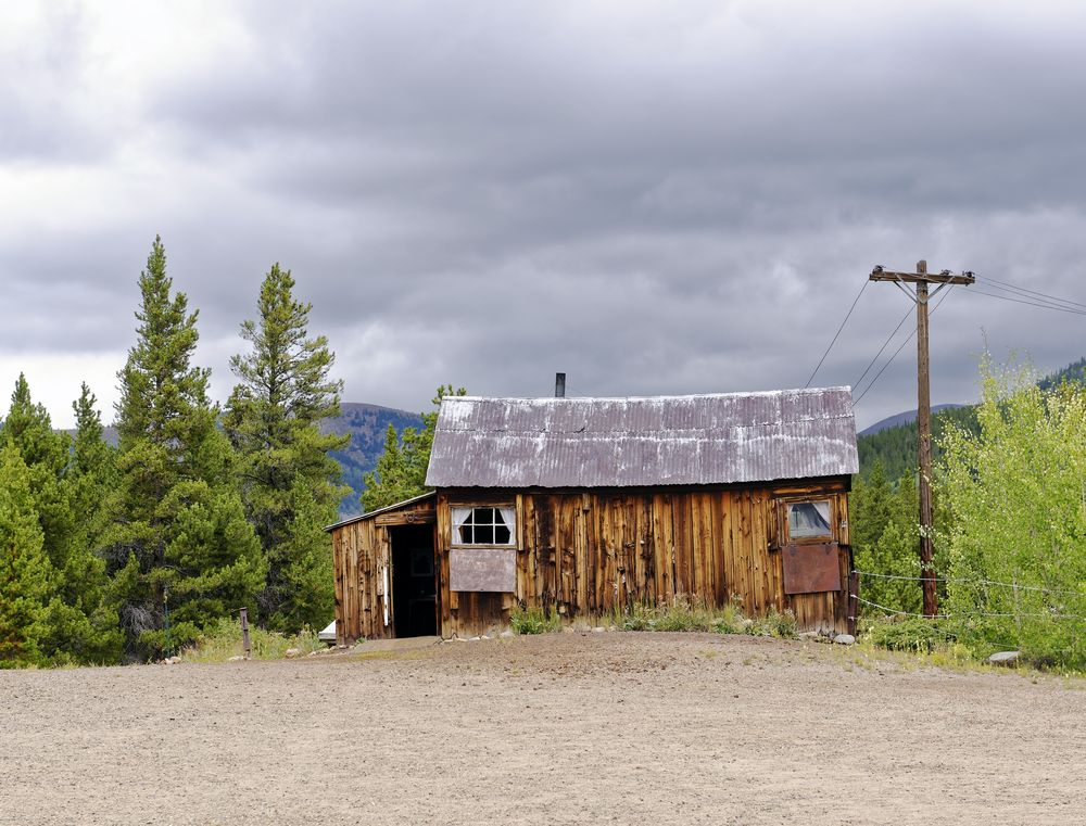 Matchless Mine site in Leadville