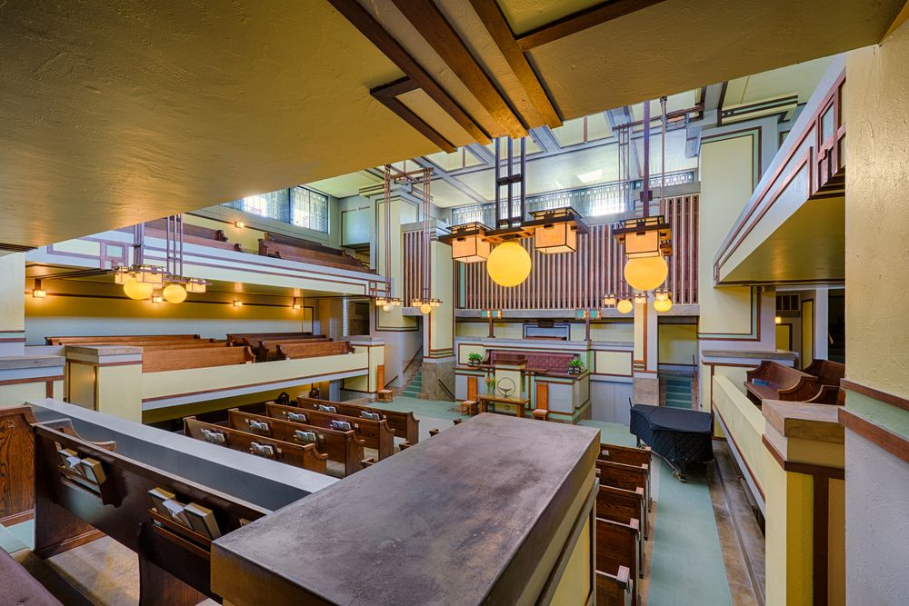 View of Unity Temple