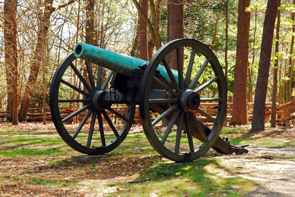 A Cannon in Fredericksburg/Spotsylvania National Military Park