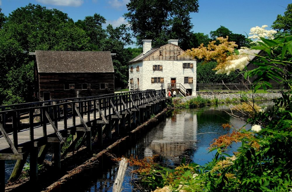 Outside View of Philipsburg Manor