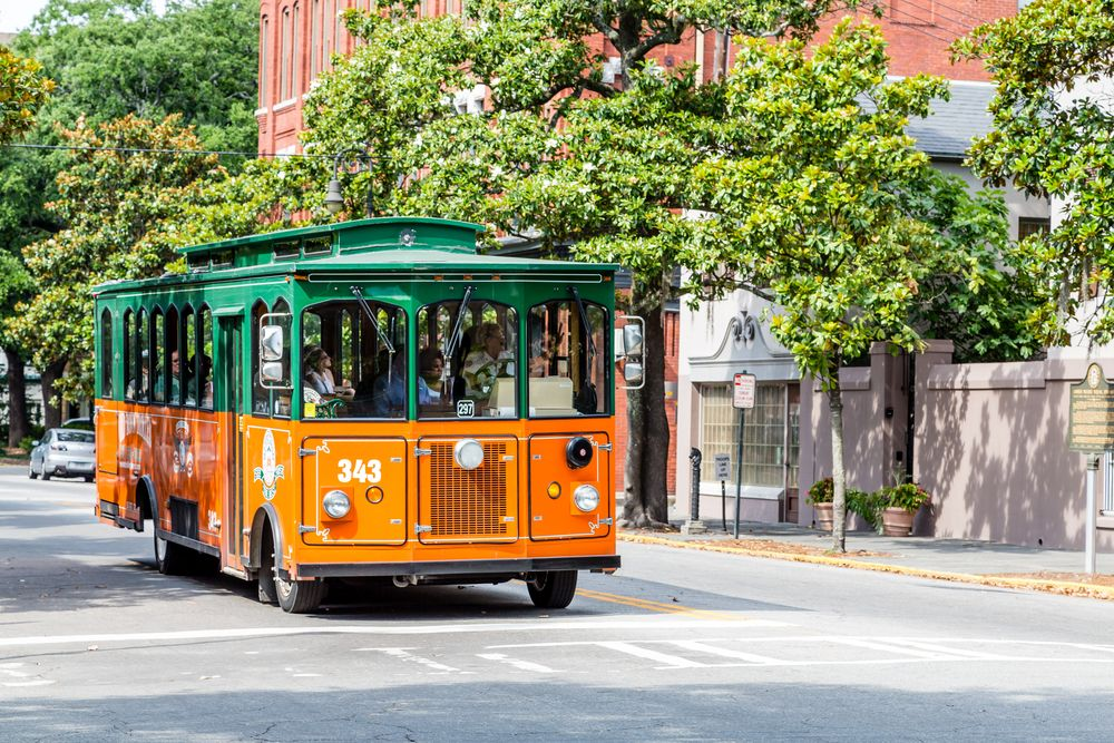 Old Town Trolley Tours in Georgia