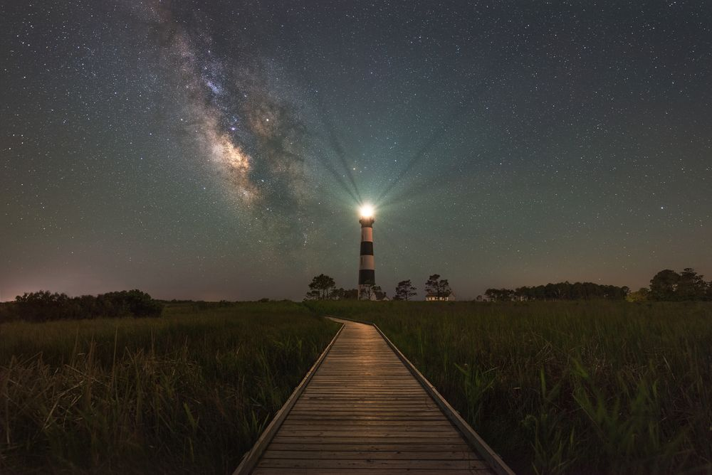 Night at Bodie Island Lighthouse