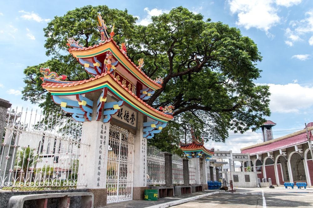 Taoist temple in Manila Chinese Cemetery