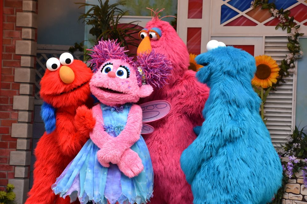Sesame Place Parade in Bucks County