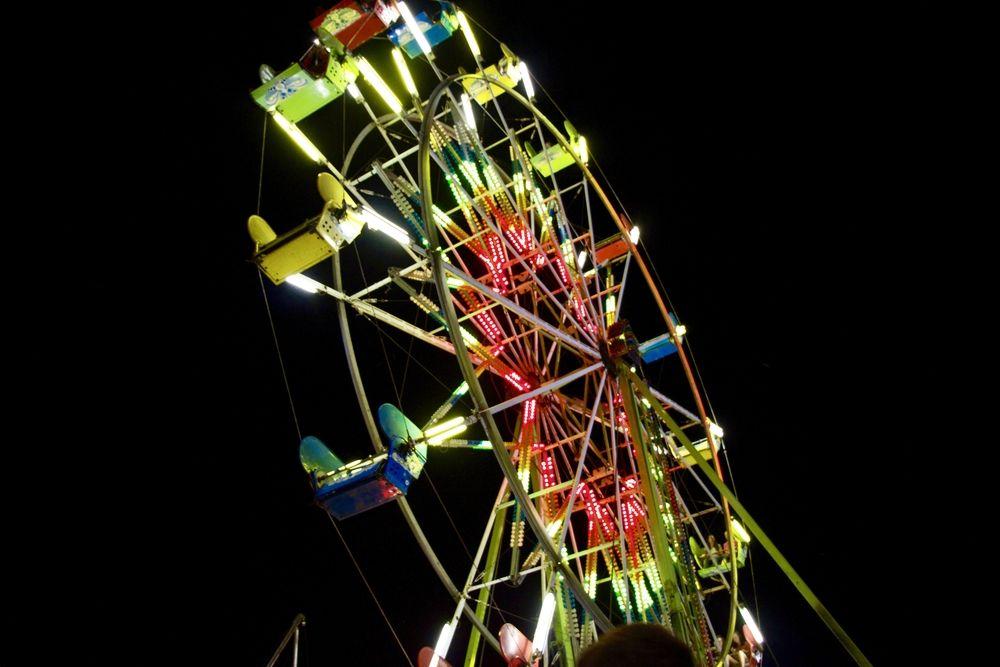 Ferris Wheel in Sheboygan County Fair