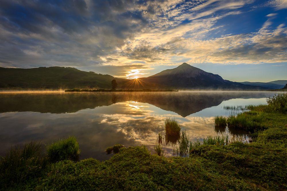 Sunset in Peanut Lake