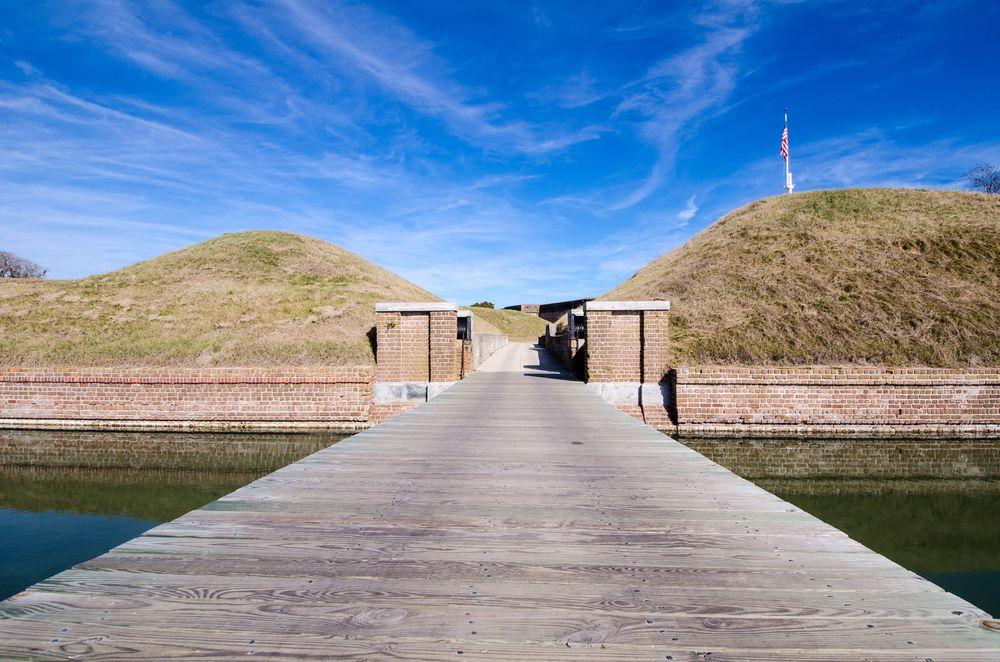 Outside of Fort Pulaski National Monument