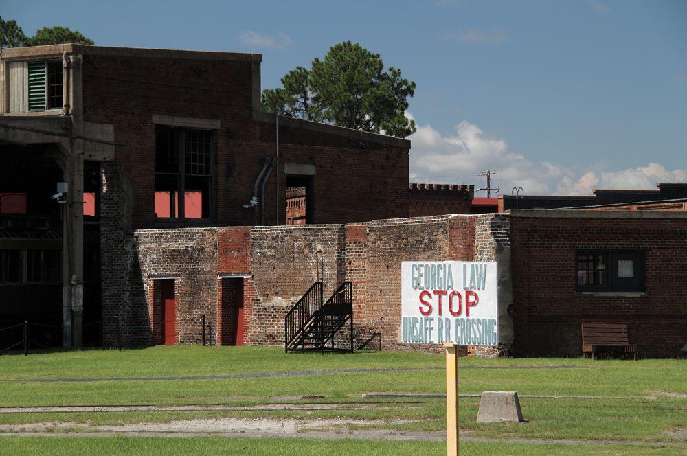 Roundhouse Railroad Museum in Georgia