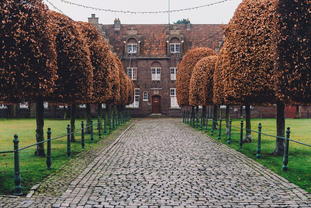New Saint Elisabeth beguinage in Sint-Amandsberg