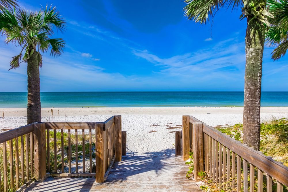 View of the sea in Anna Maria Island
