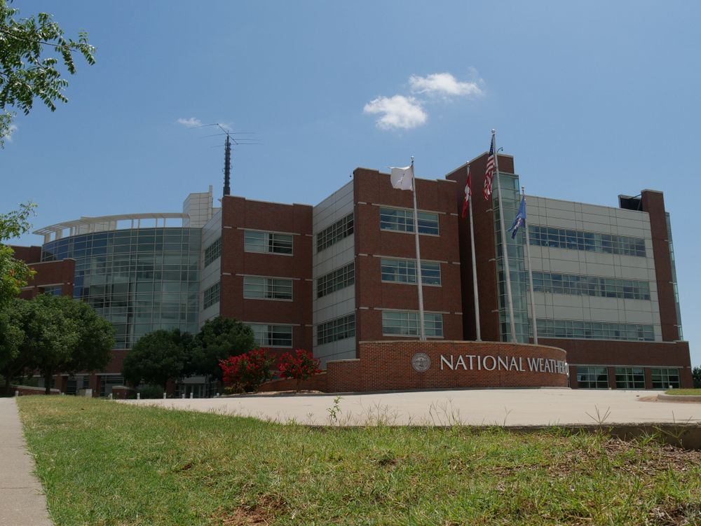 Outside View of National Weather Center