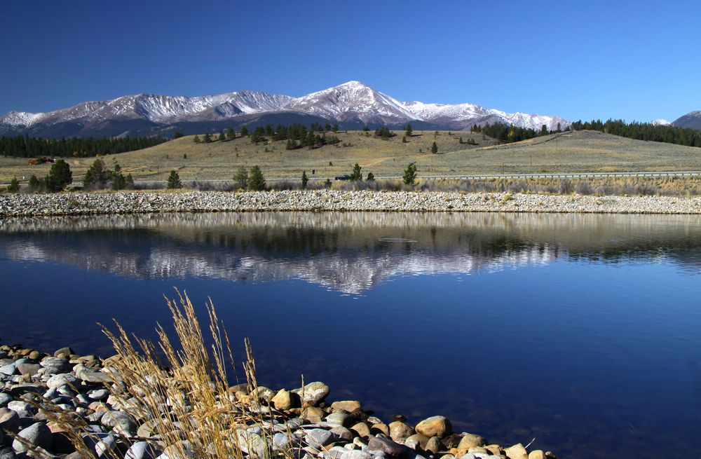 View of Mount Elbert