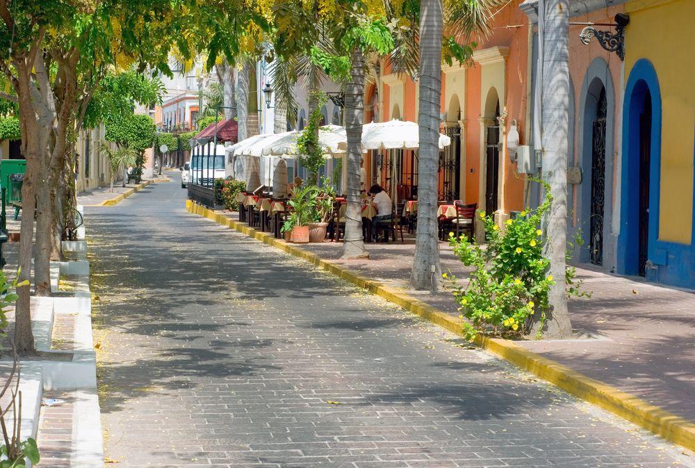 View of Plaza Machado