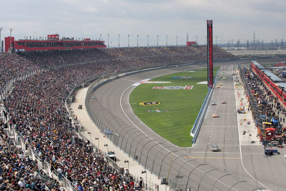 Aerial View of Auto Club Speedway