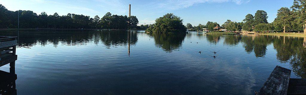 View of City Lake Park