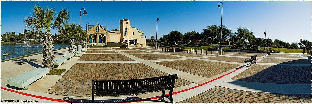 View of Dean Porter Park
