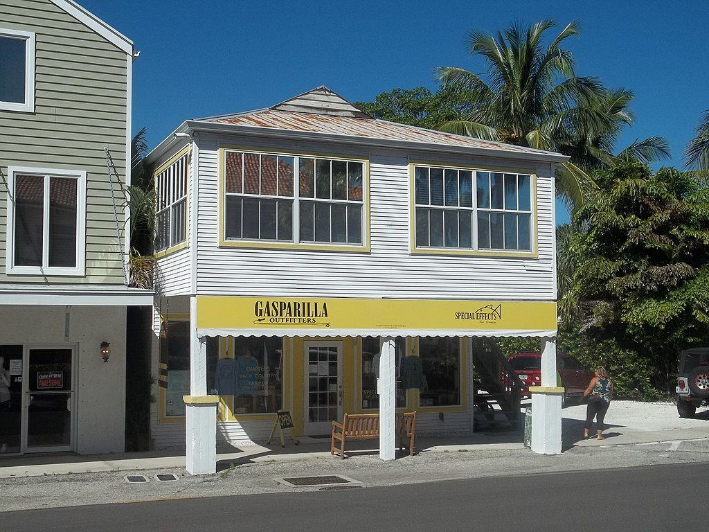 View of a Street in Boca Grande