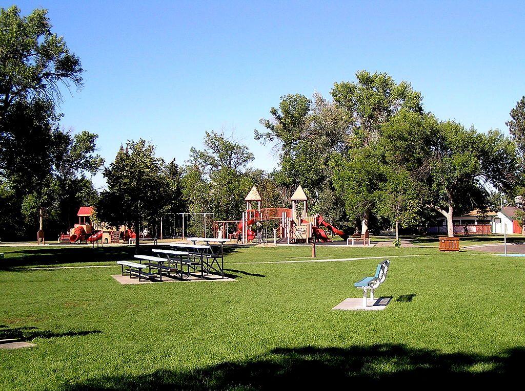 Playground in Gibson Park