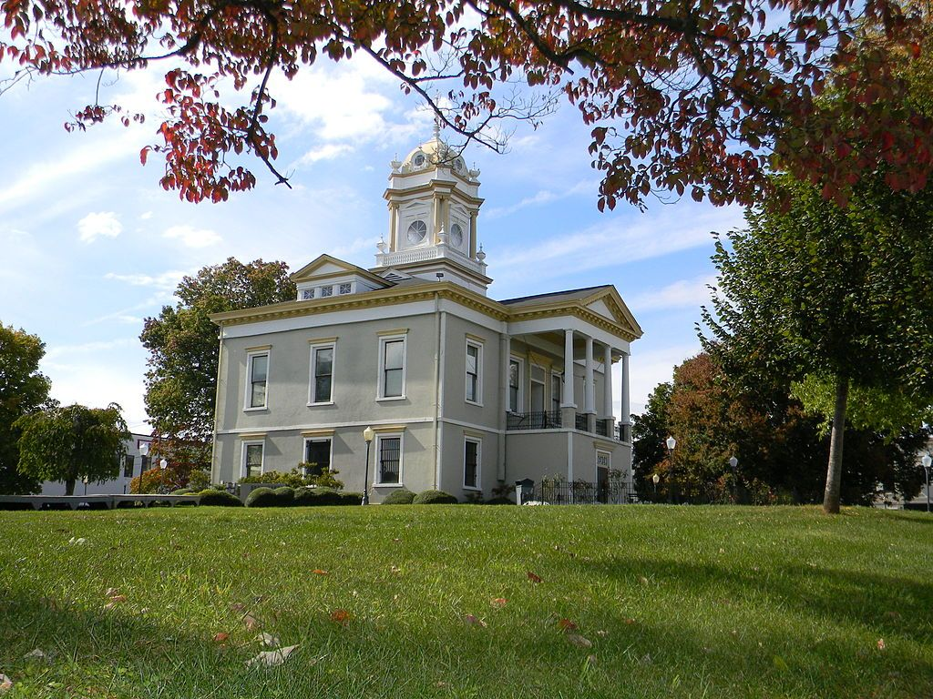 Outside View of Old Burke County Courthouse