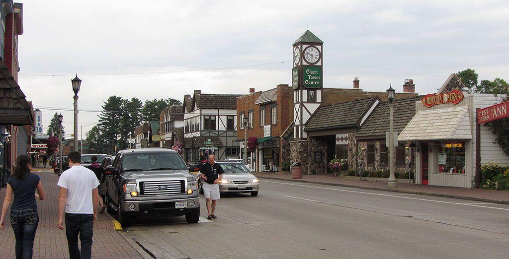 View of Downtown Minocqua