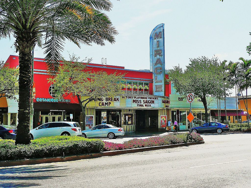 Outside View of Miracle Theatre