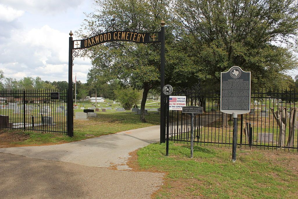 View of Oakwood Cemetery