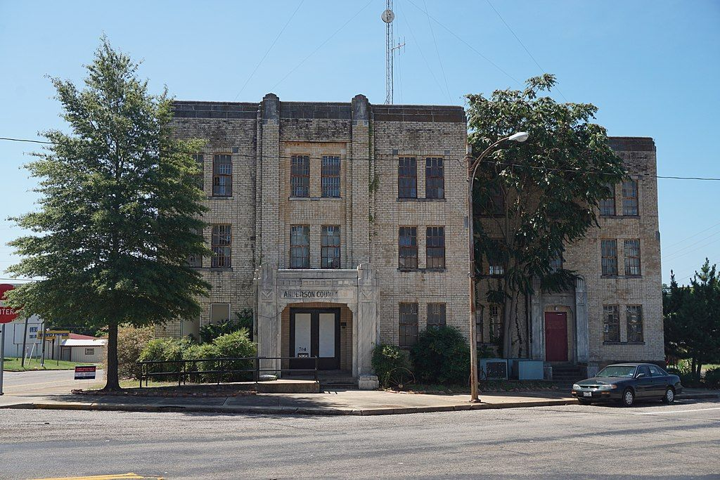 View of Historic Texas Jail House
