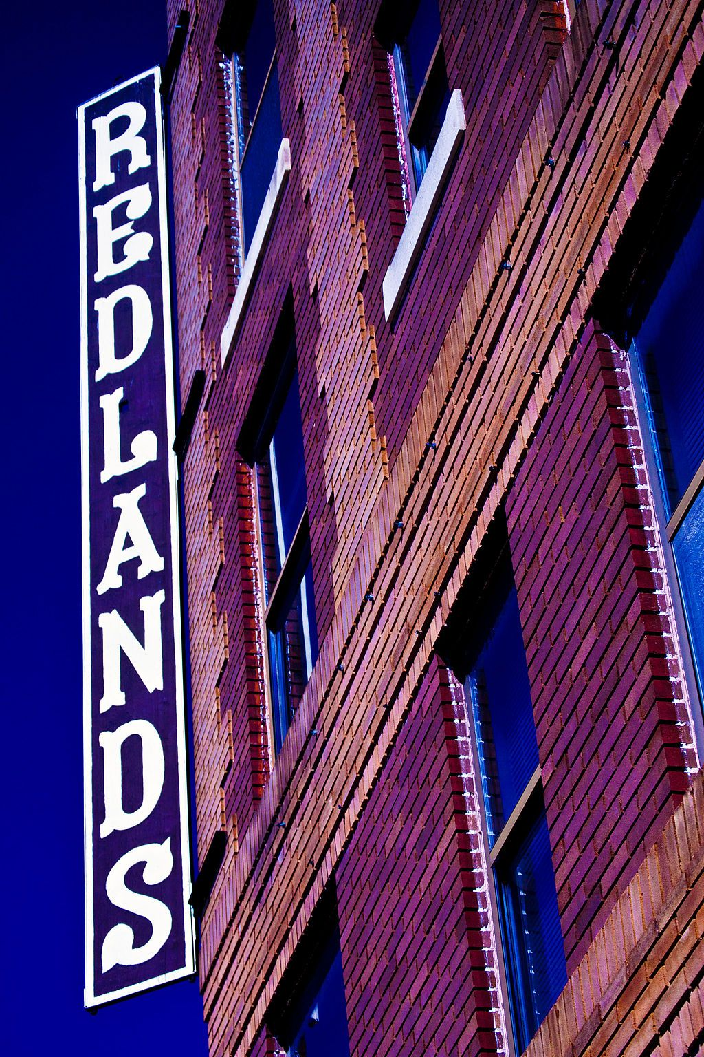 View of Redlands Hotel
