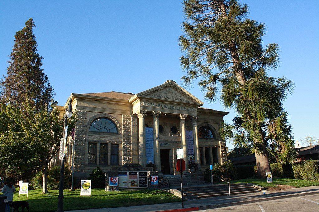 View of Petaluma Historical Library & Museum