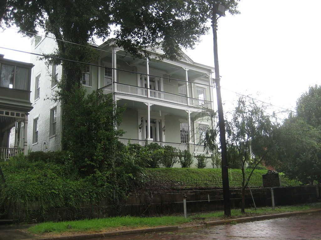 Outside View of Pemberton's Headquarters