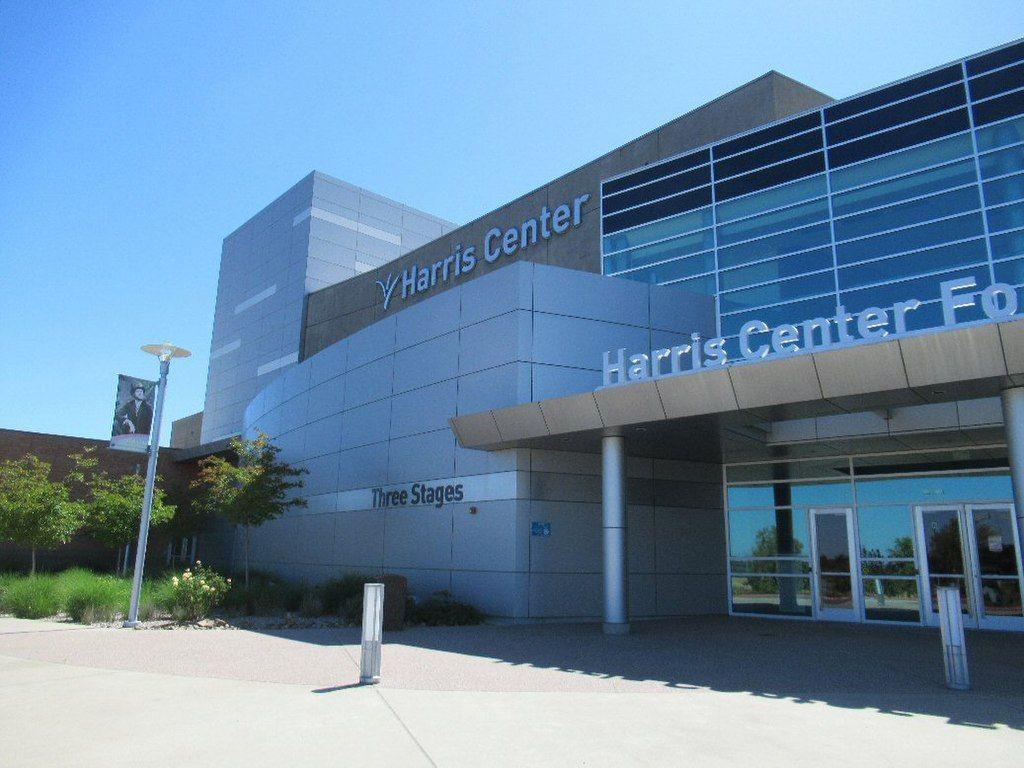 Outside Harris Center