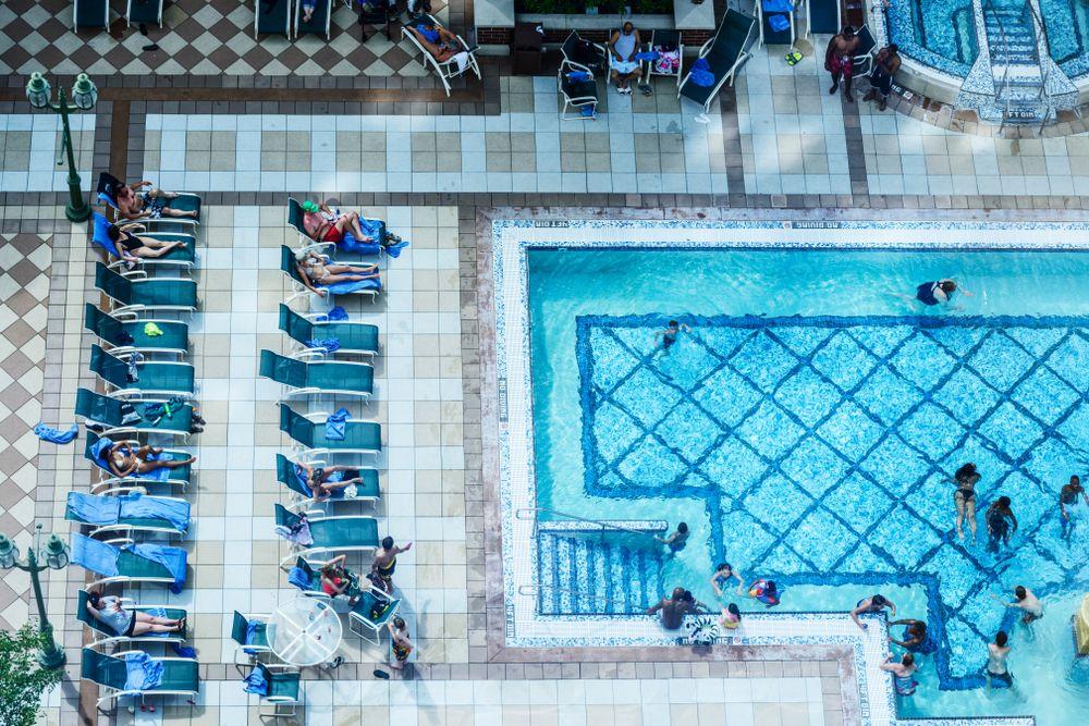 Swimming pool at Ameristar Casino
