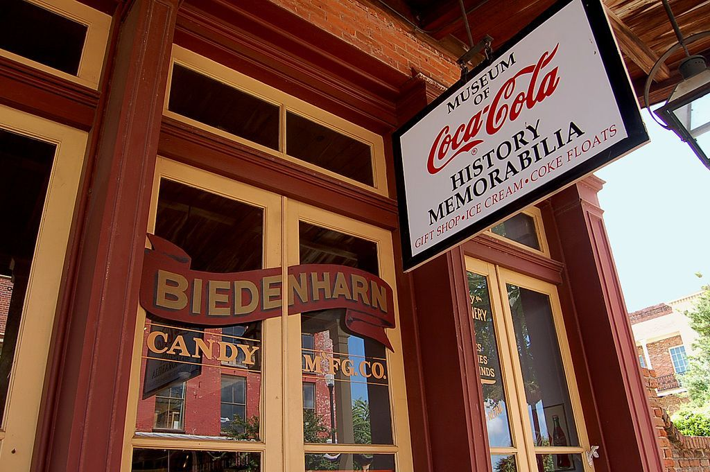 Outside View of Biedenharn Coca-Cola Museum