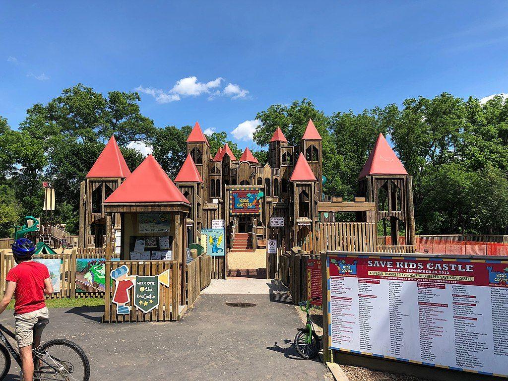 Kids castle in Central Park