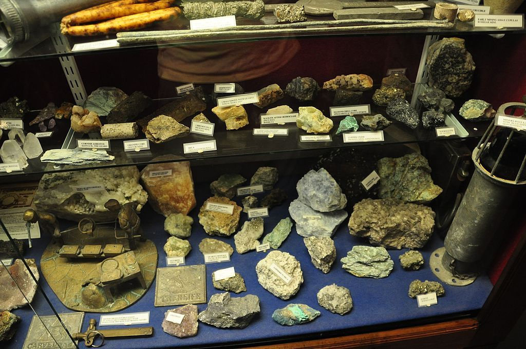 Artifacts in Charlestown Shipwreck Centre