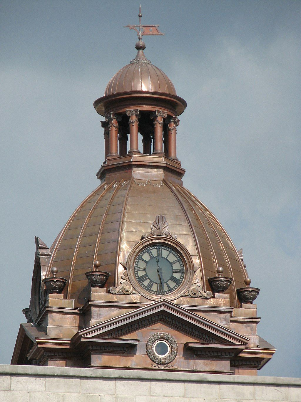 View of Coweta County's Historic Courthouse