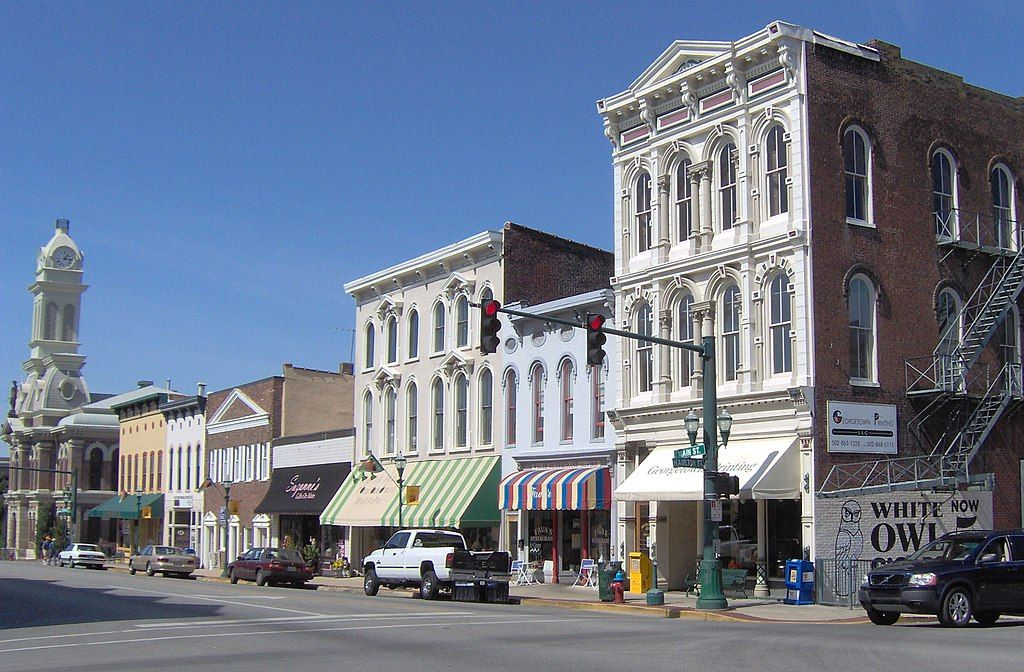 View of Downtown Georgetown