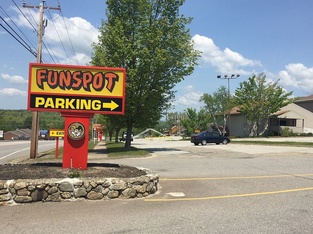 A Sign in Funspot