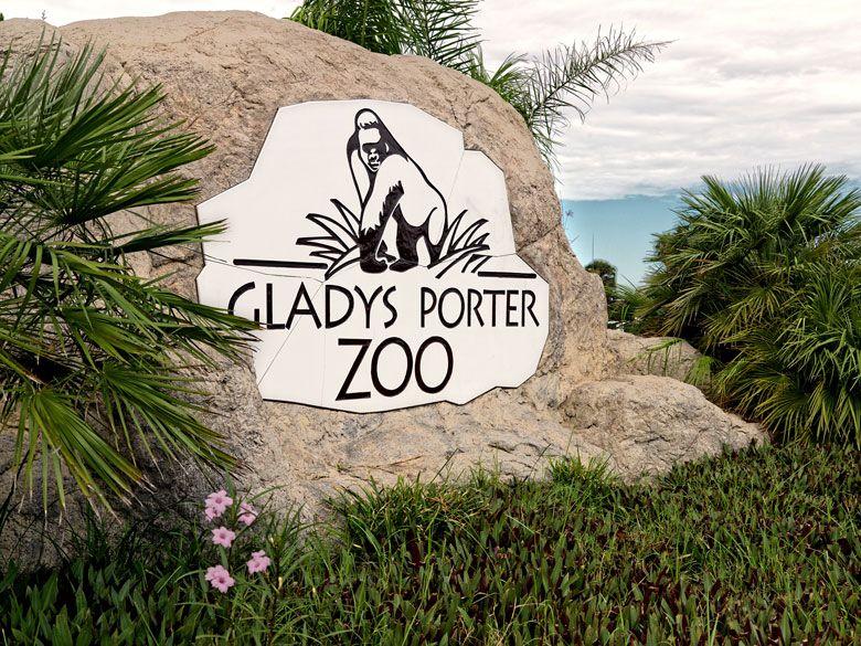 View of Gladys Porter Zoo