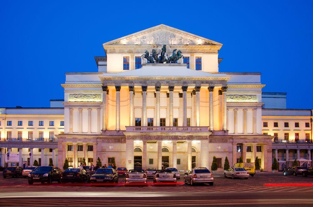 Grand Theatre in Warsaw