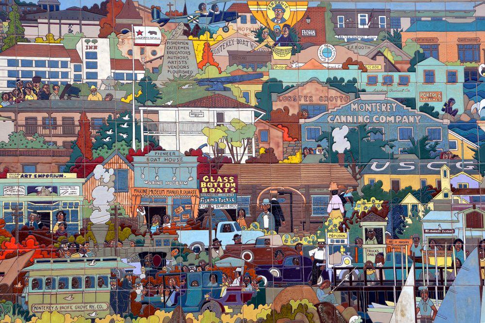 Granizo Tile Art Mural