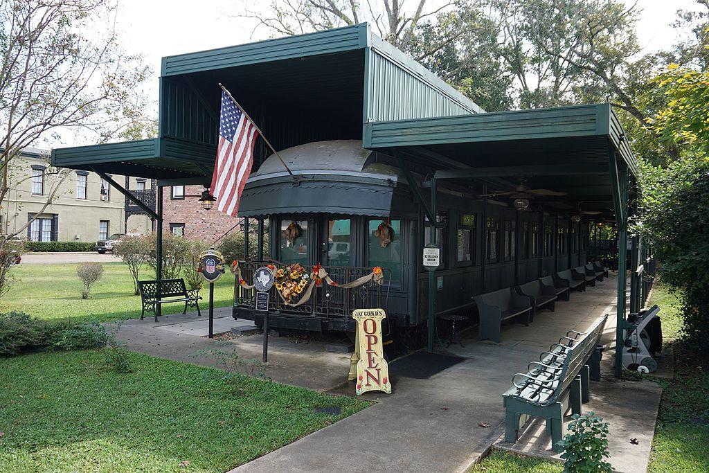 View of Jay Gould Railroad Car