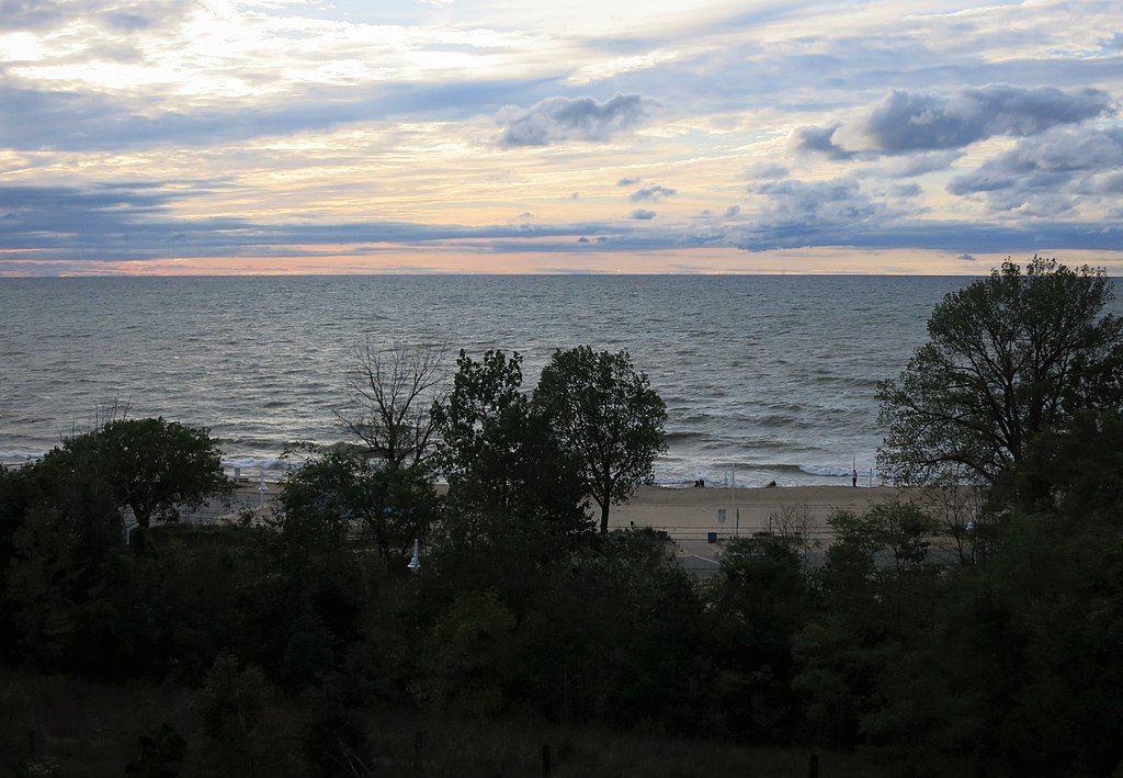 View of Lions Park Beach
