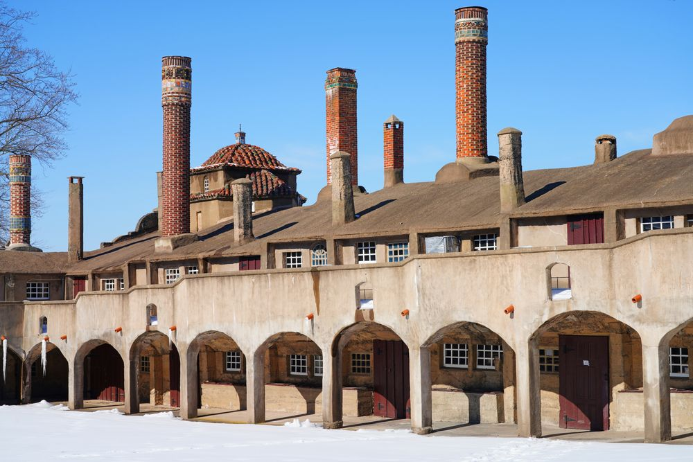 Moravian Pottery & Tile Works Museum