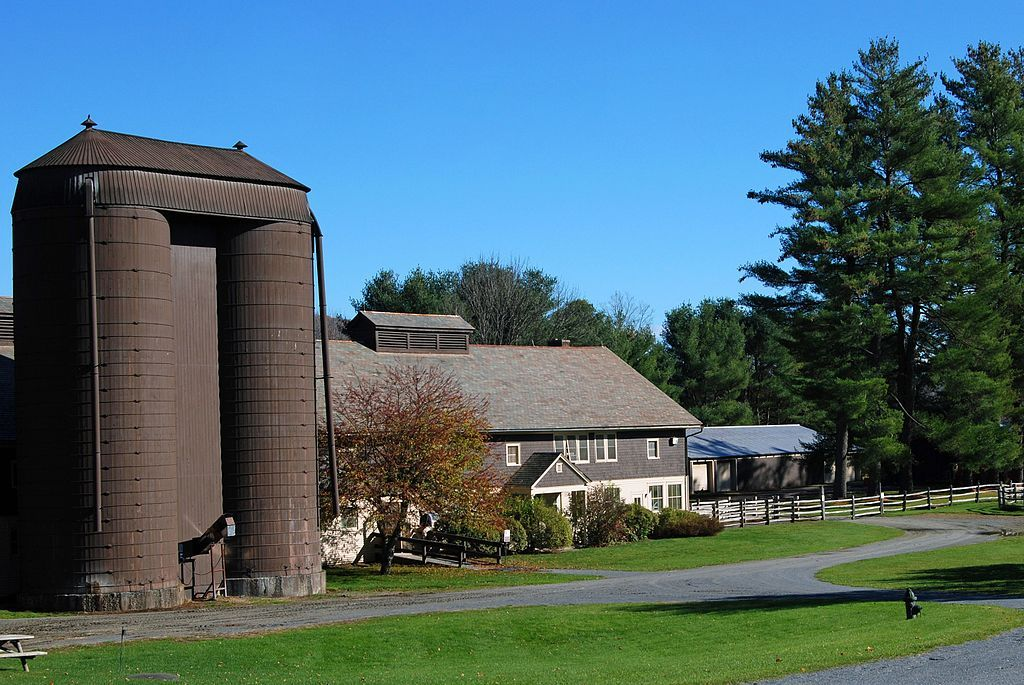 Beautiful View of Billings Farm & Museum